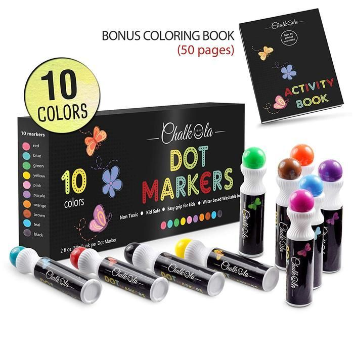 Color on 12 Vibrant Colored Oil Based Markers Castle Art Supplies Paint Pens