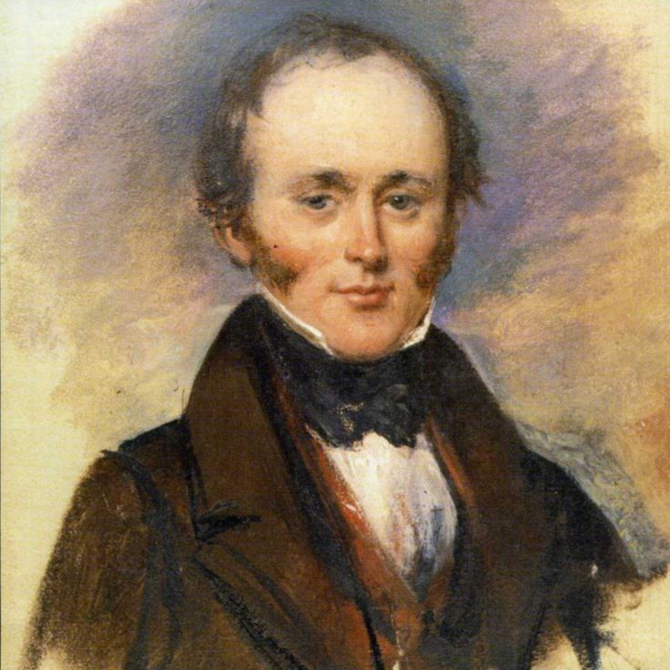 Sir Charles Lyell, FRS, author of Principles of Geology. Born on this date 14 November 1797