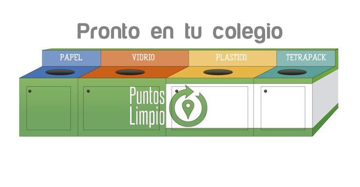 reciclaje en tu colegio