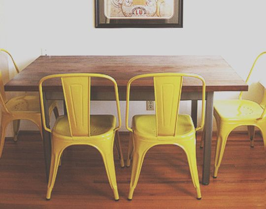 10 Outstanding Yellow Metal Kitchen Chairs Stock In 2020 Metal