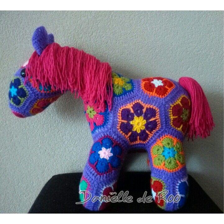 African Flower Pony Crochet Pattern : 17 Best images about African flower crochet on Pinterest ...