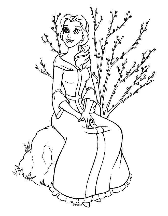 pin en la bella y la bestia dibujos para dibujar