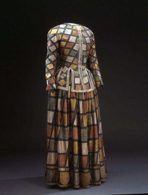 Harlequin robe | NAME Owner:Ulrika Eleonora the Elder of Sweden, 1656-1693