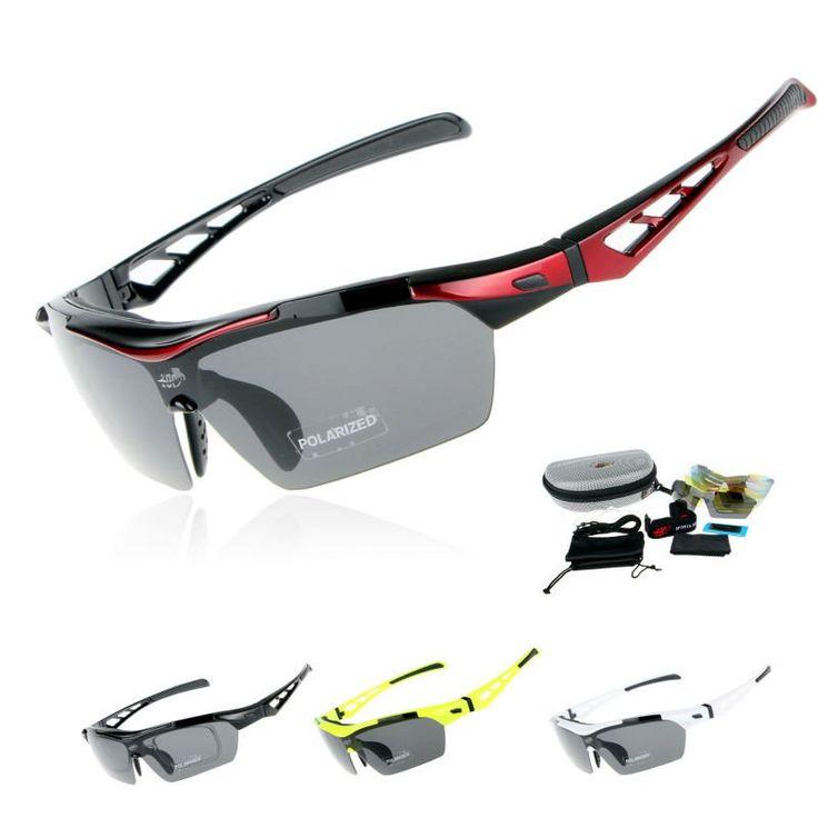 [FREE SHIPPING!] NEW 2017 Professional Polarized Cycling Sunglasses / Polarized UV-400 With 5 Lenses