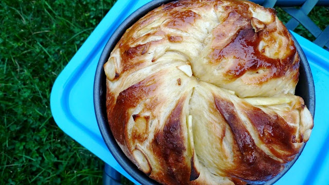 Apple-Honey Challah. Rosh HaShanah might be a few months away, but it ...