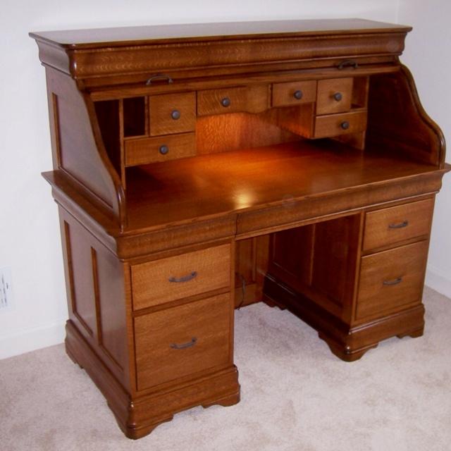 26 best Desk images on Pinterest | Antique desk, Rolltop ...
