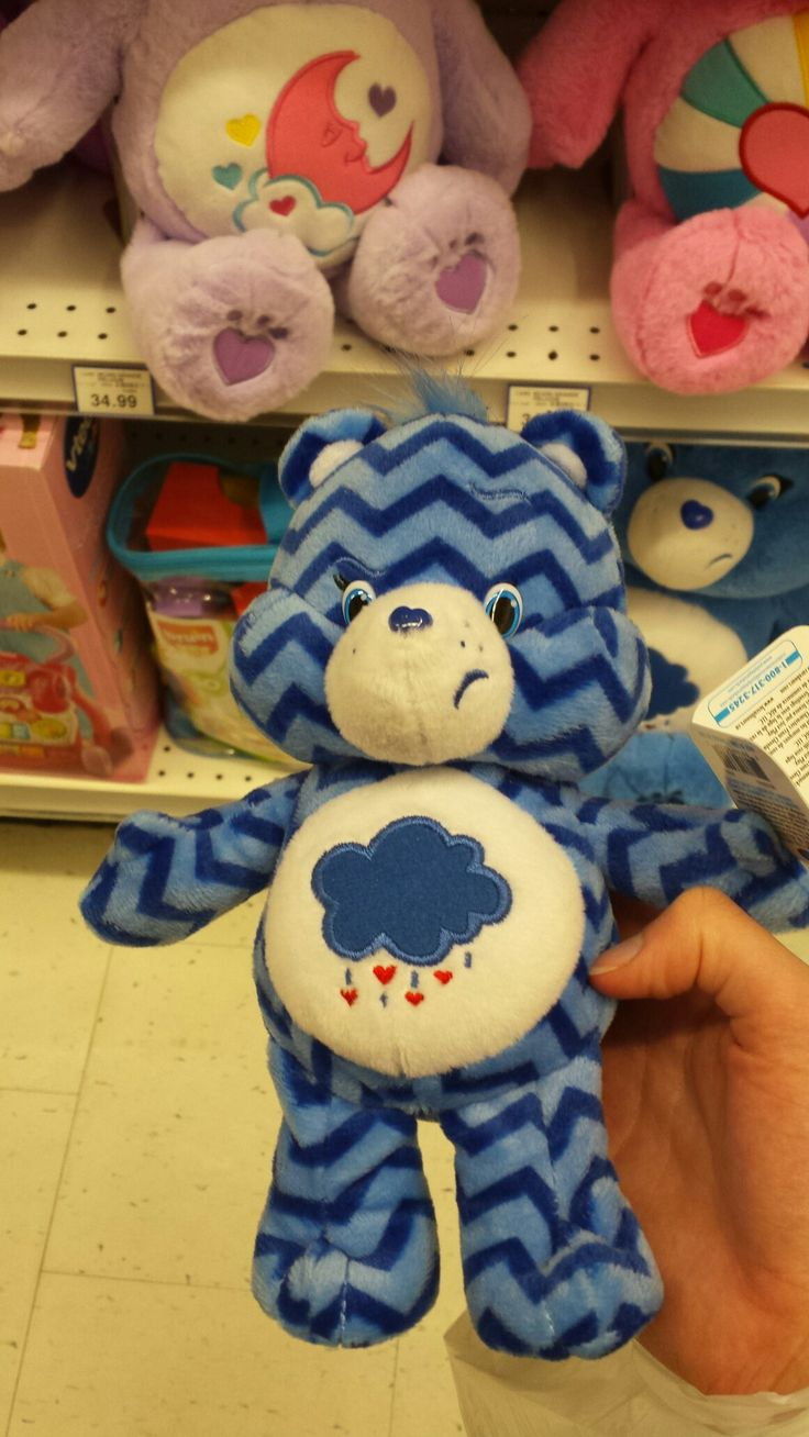 Grumpy Bears Care Bears Care bears, Bear, Toy chest