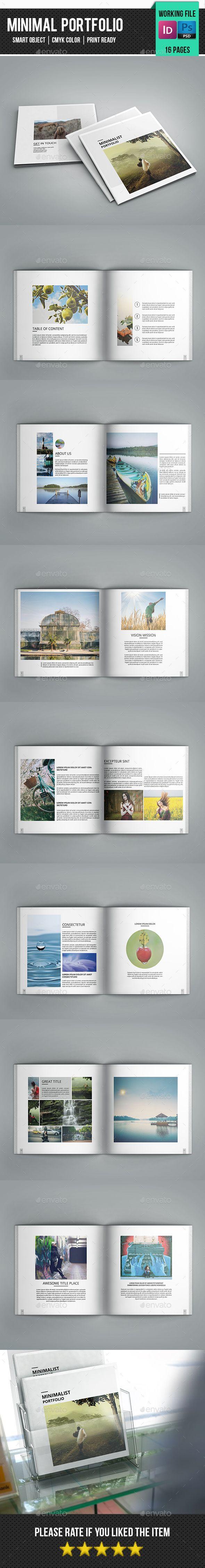 Square Portfolio Template-V84  #elegant #blue #brochure • Click here to download ! http://graphicriver.net/item/square-portfolio-templatev84/16209203?ref=pxcr