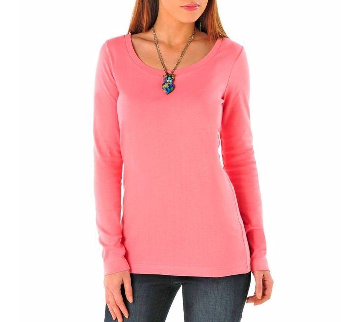 Tričko s dlhým rukávom, jednofarebné | vypredaj-zlavy.sk #vypredajzlavy #vypredajzlavysk #vypredajzlavy_sk #tshirt