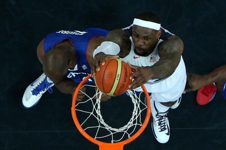 US basketball player LeBron James