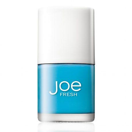 Joe Fresh Fluo Blue Nail Polish