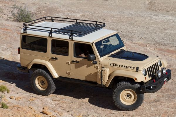 Jeep Wrangler Africa Concept Photo 102014018