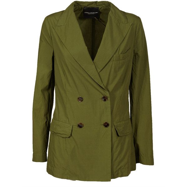 Ernest Jacket (369,830 KRW) ❤ liked on Polyvore featuring outerwear, jackets, olive, straight jacket, olive green jacket, green military jackets, army green jackets and green jacket