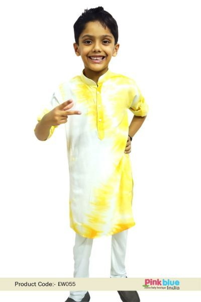 d5754eef7e Baby Boys Cotton Kurta and Pajama Set - Kids Ethnic Wear India - Designer  Indian Traditional Clothes - Readymade kurta pajama for Children