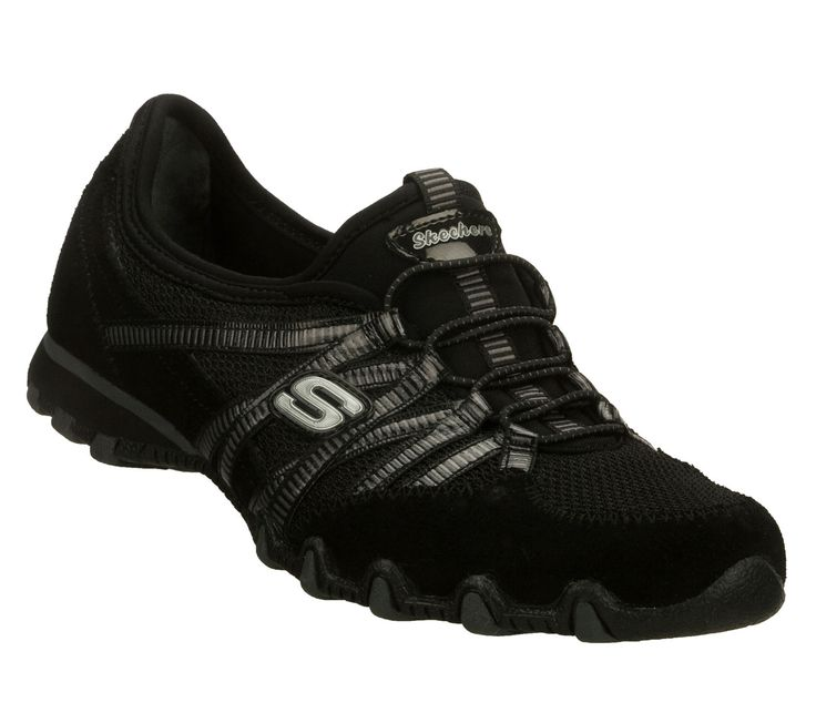 I bought these SKECHERS Women's Bikers - Hot Ticket Bungee Sneakers four times. The most comfy shoe ever!
