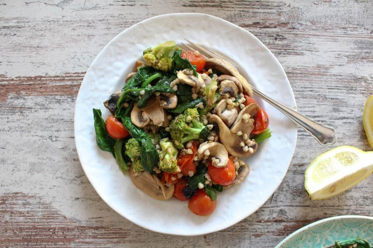 Quick Buckwheat and Vegetable Stir Fry - vegan, plant based, gluten free, refined sugar free, healthy (no mushrooms)