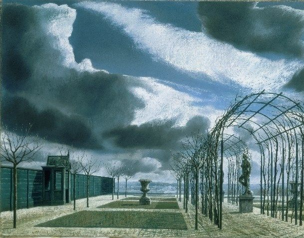 Carel Willink - Tuin in de winter, 1959. Stedelijk Museum Amsterdam