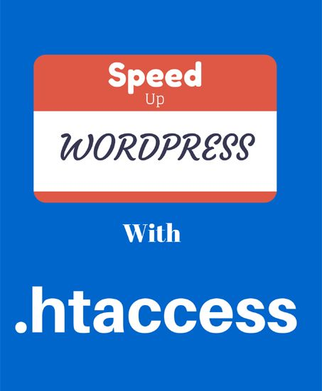 How to speed up WordPress site using .htaccess