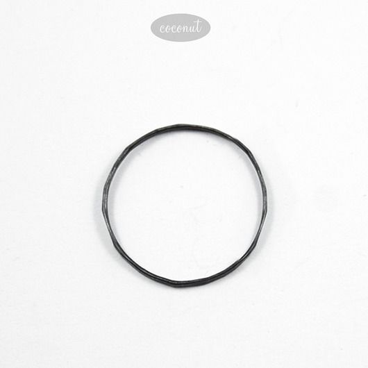 pierścionki i obrączki-obrączka SLIM - oksydowane srebro