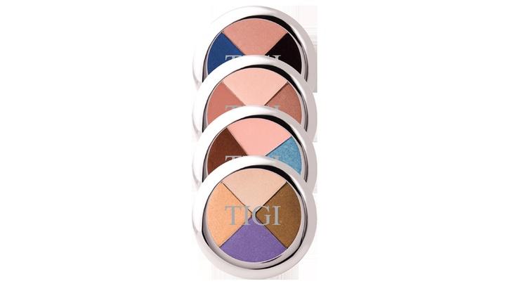 My favorite eyeshadow !!! I have tried many things, and TIGI has my heart when it comes to eyeshadow!: Make Up, Tigi Eye, Eye Shadows, Colors, I'M, Quad Shadows, Beautiful Products, Favorite Eyeshadows