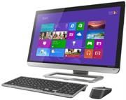 "Toshiba Qosmio All In One Desktop PC - Intel Core i5-4200M Processor, 23"" Full HD Touch Screen(Capacitive)Monitor, 8GB Ram, 750GB Hard Drive, DVD-RW Optical Drive.http://www.satelectronics.co.za/"