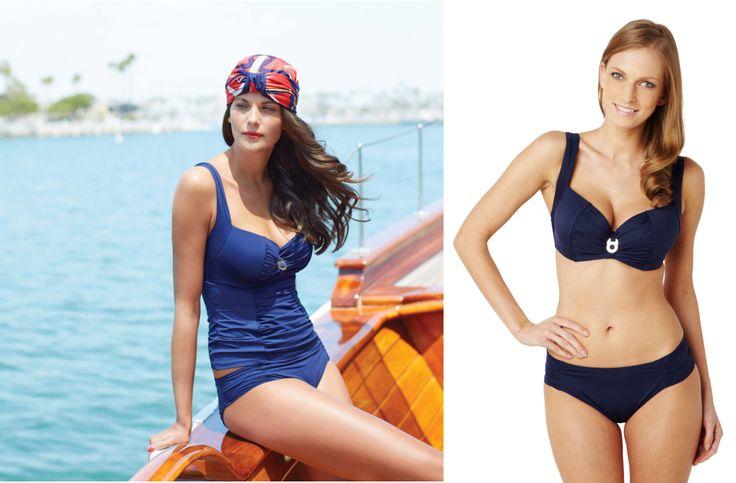 Panache Annalise Navy #tankini_panache #swimsuit_panache #panache_annalise #panache_annalise_navy