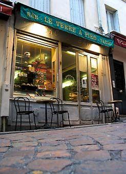 Le Verre a Pied - Latin quarter cafe bar