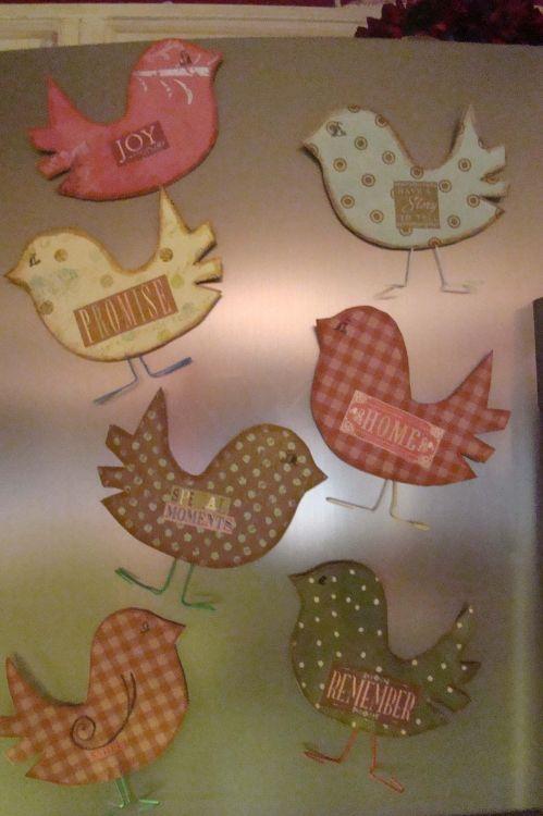 spring bird craft idea