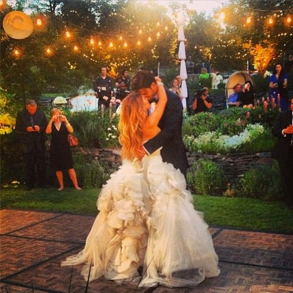 Eric Decker and Jesse James, Real Wedding at Castle Cliff Estates