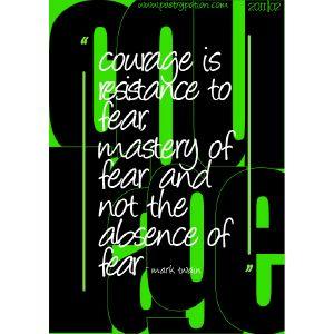 #CourageIssue