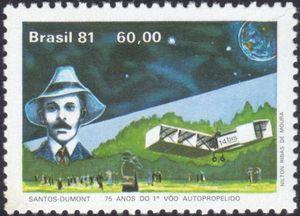 75 Years of the 1st flight of plane - Santos Dumond
