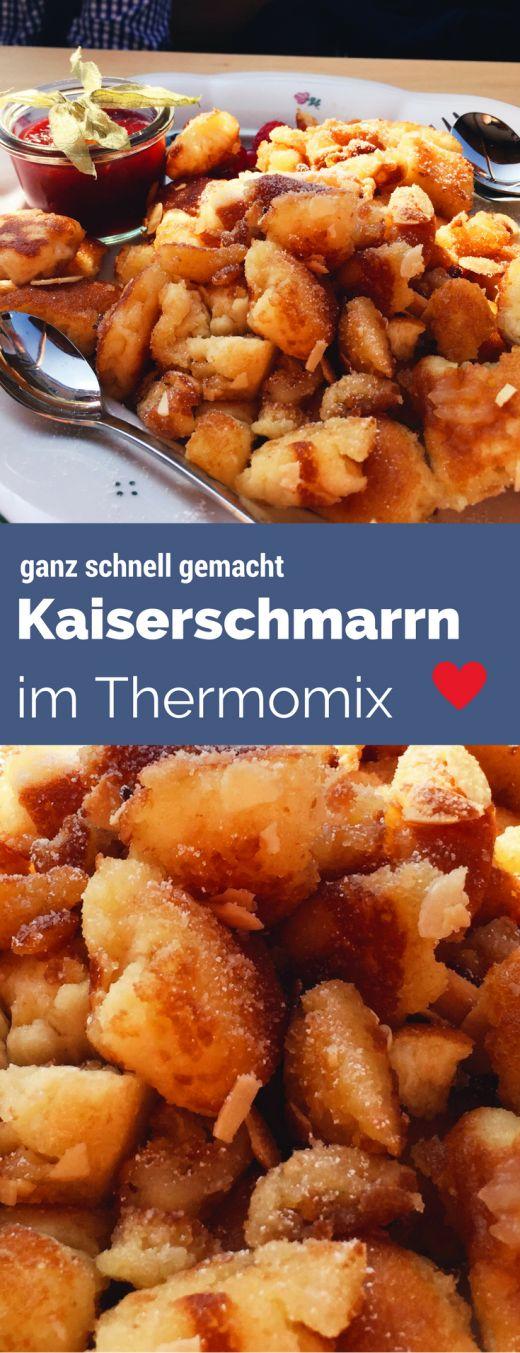 Kaiserschmarrn à la Sansibar im Thermomix - aus dem Ofen.