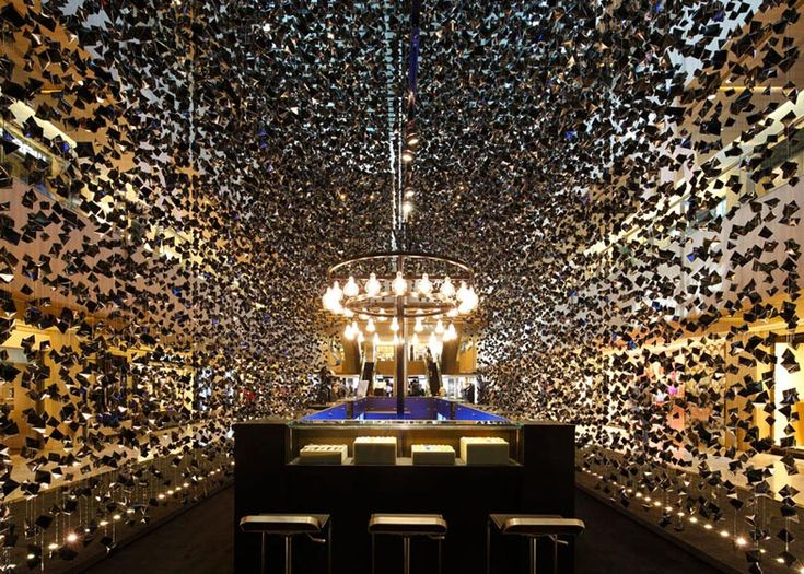 Probably not for home, but what an impressive interior!  Inside Awards 2013 shortlist announced #restaurants #bars