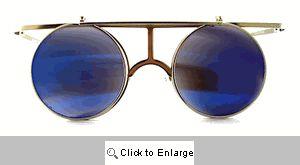 Circle T Flip-Up Sunglasses - 267 Silver