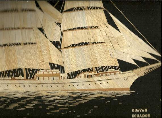 Tall ships from around the world  Handmade with by museumshop, $99.00