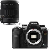 Sigma SD-15 Digital SLR Camera Body, with Sigma 18-50mm f/2.8-4.5 DC OS HSM Standard Zoom Lens for Sigma - USA Warranty