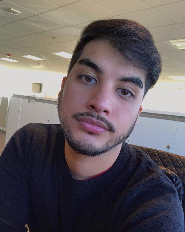 White guy selfie