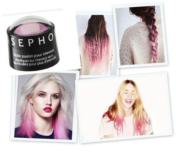 Sephora roze dip dye