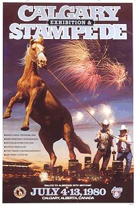 Calgary Stampede poster 1980