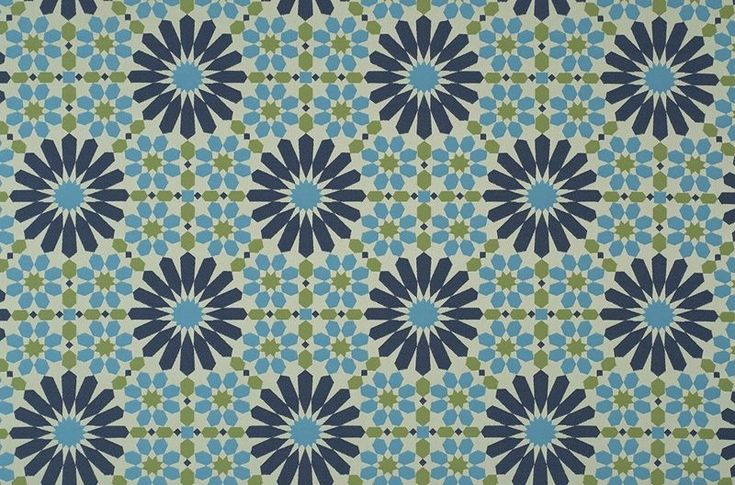 Arabesque 7601 Pacific 534 (16034-534) – James Dunlop Textiles | Upholstery, Drapery & Wallpaper fabrics