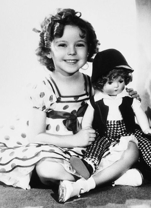 I had a Shirley Temple doll when I was a child and she wore this dress