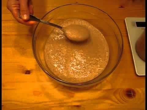 Закваска для ржаного хлеба - YouTube