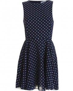 Nay Polka Dot Sleeveless Smart Dress by INLoveWithFashion - $56.39