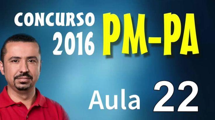 Concurso Polícia Militar PM PA 2016 - Português - Aula 22