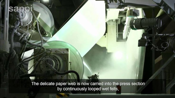 The Paper Making Process 13 minutes