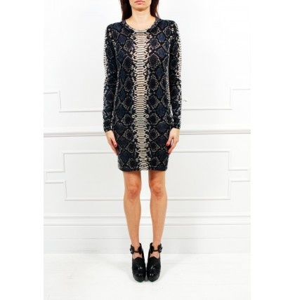 Markus Lupfer - Snake Print knitted Dress