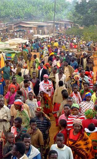 This is a refugee camp in Burundi where many men, women, and children stay until they can return to their country or until they are granted refugee status. As one can see, Burundi has a vibrant culture