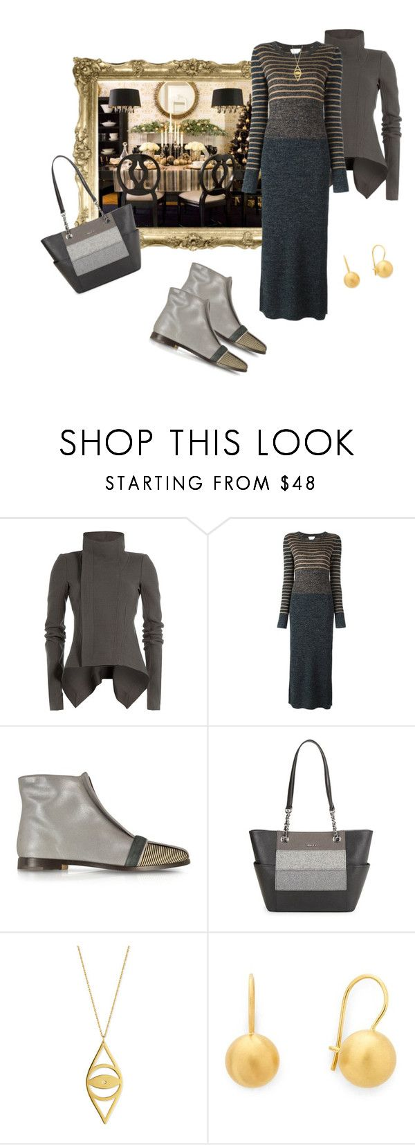 """""""Family dinner!"""" by bv-b ❤ liked on Polyvore featuring Rick Owens, See by Chloé, Zoe Lee, Calvin Klein, Jennifer Zeuner and Diane Von Furstenberg"""