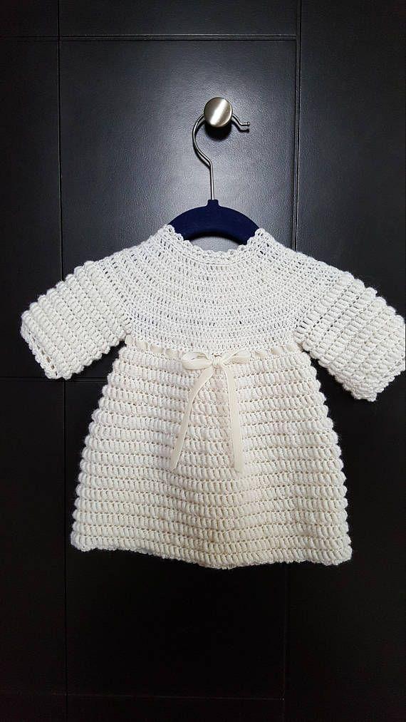 Little wool baby dress