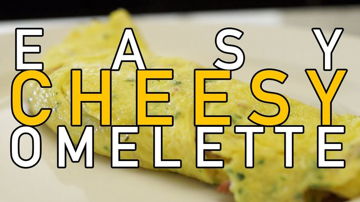 how to make an omelette with cheese and ham video